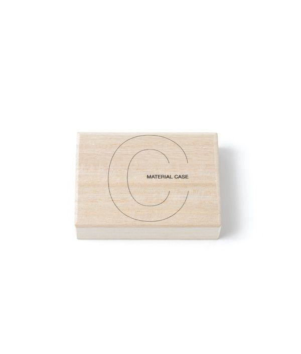 toumei × CIBONE MATERIAL CASE hashioki