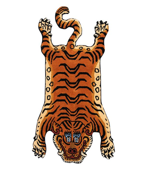Tibetan Tiger Rug Large