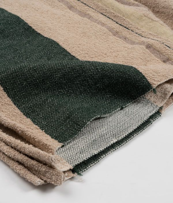 Green Border Blanket
