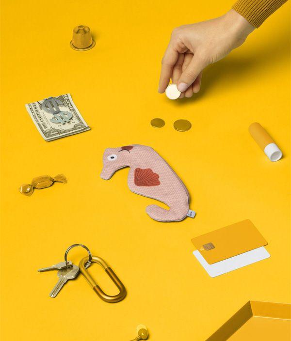 Keychain Pink Seahorse