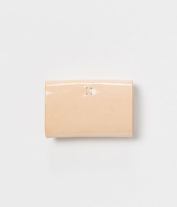 Hender Scheme one piece card case / patent natural