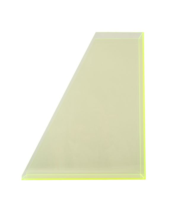 ORIGINAL ACRYLIC  FILE BOX / NEON GREEN