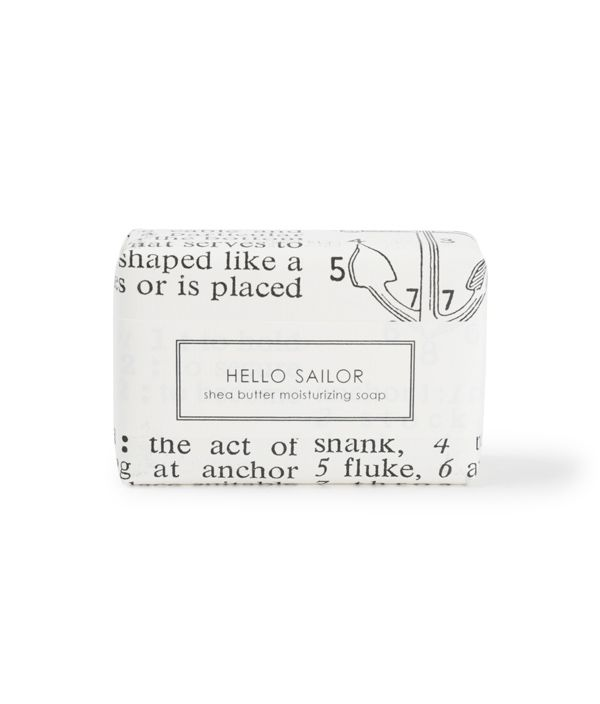 SHEA BUTTER SOAP HELLO SAILOR