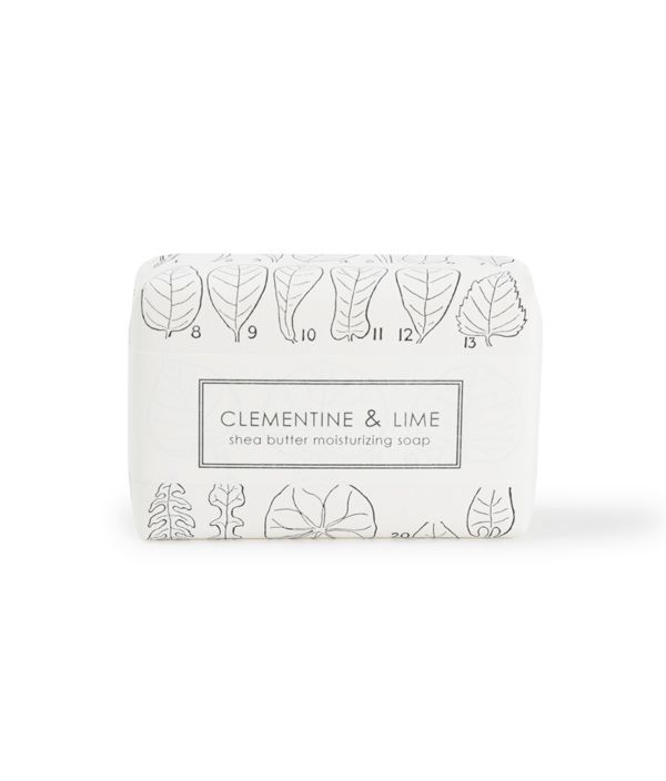 SHEA BUTTER SOAP CLEMENTINE & LIME