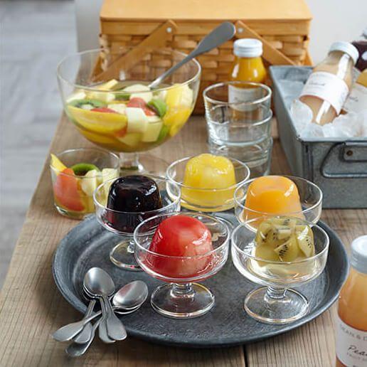 果実味あふれる、ひんやり美味しいプレミアムゼリー