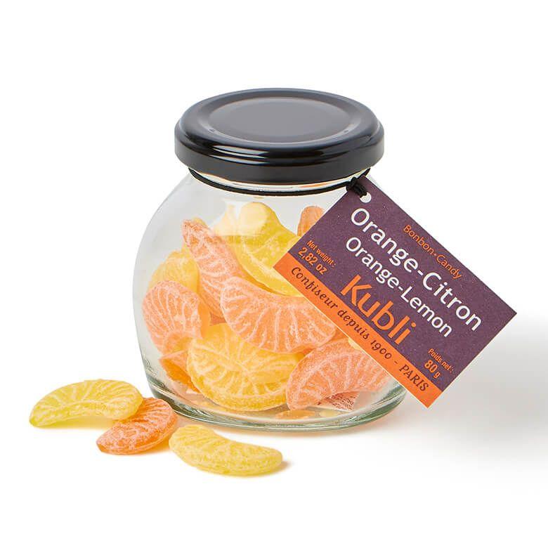 クブリ キャンディジャー ボンボン オレンジシトロン