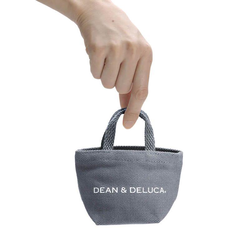 DEAN & DELUCA トートバッグチャコールグレー ミニ