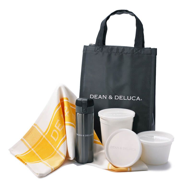 【オンラインストア限定】 DEAN & DELUCA  クーラーバッグ&キッチンツールセット