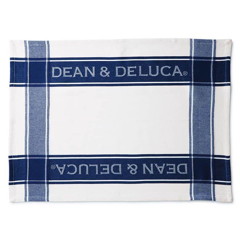 DEAN & DELUCA ティータオル ネイビー