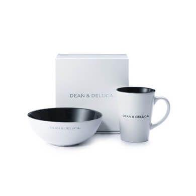 DEAN & DELUCA  シリアルボウル&ラテマグセット ホワイト