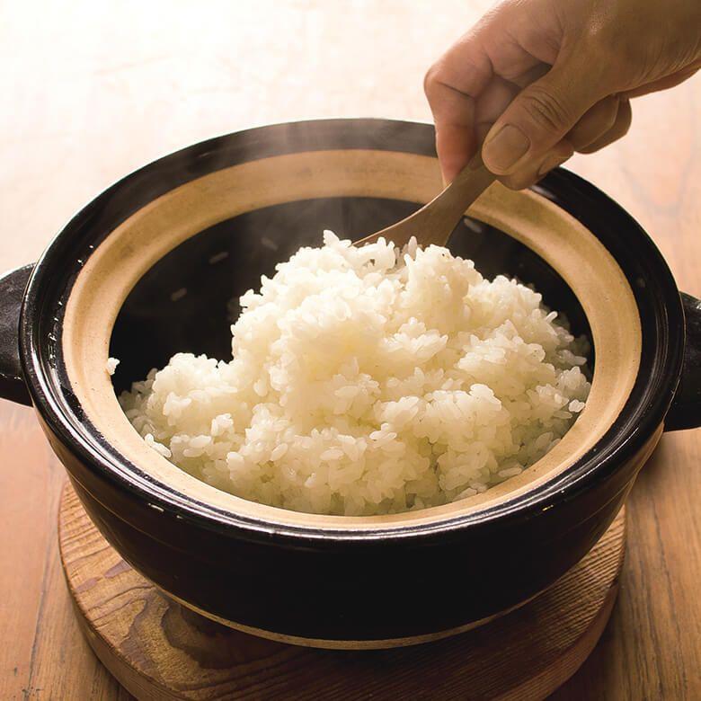 長谷製陶 かまどさん (3合炊き)