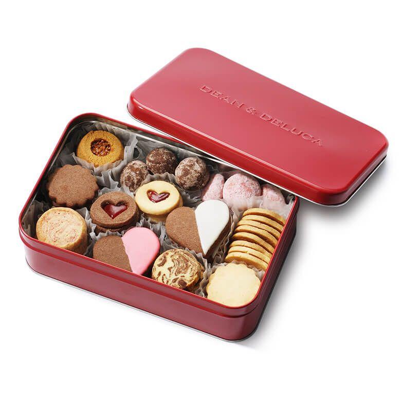 DEAN & DELUCA バレンタインクッキー缶