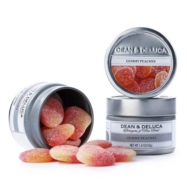 DEAN & DELUCA ピーチグミ缶
