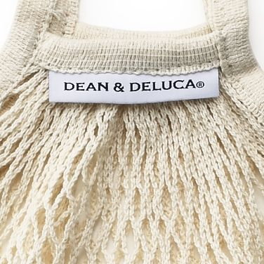 DEAN & DELUCA ネットバッグ ナチュラル