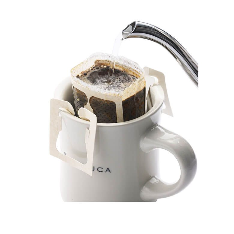1杯ずつ手軽に楽しめる、ドリップコーヒー
