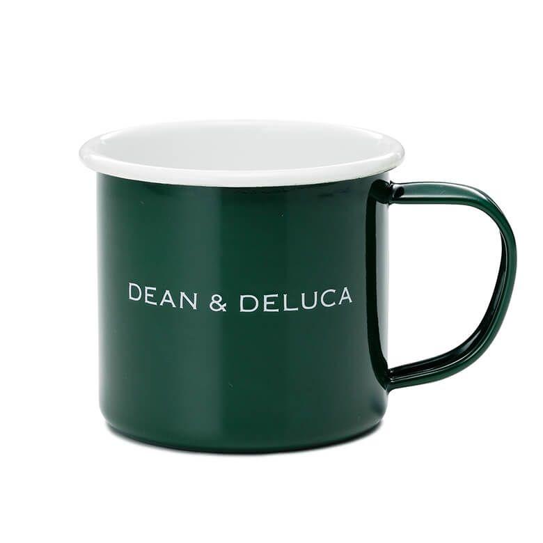 DEAN & DELUCA ホーローマグカップ グリーン 180cc