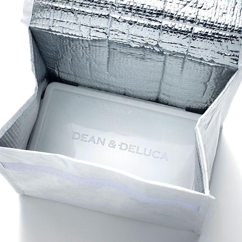 DEAN & DELUCA ランチバッグホワイト