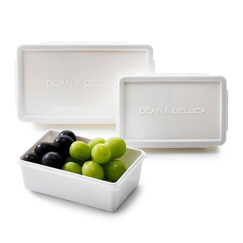 DEAN & DELUCA ランチボックス ホワイトM