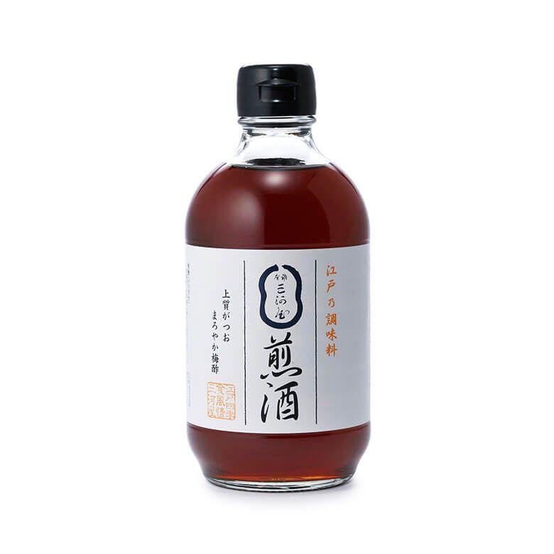 銀座三河屋 煎酒400ml