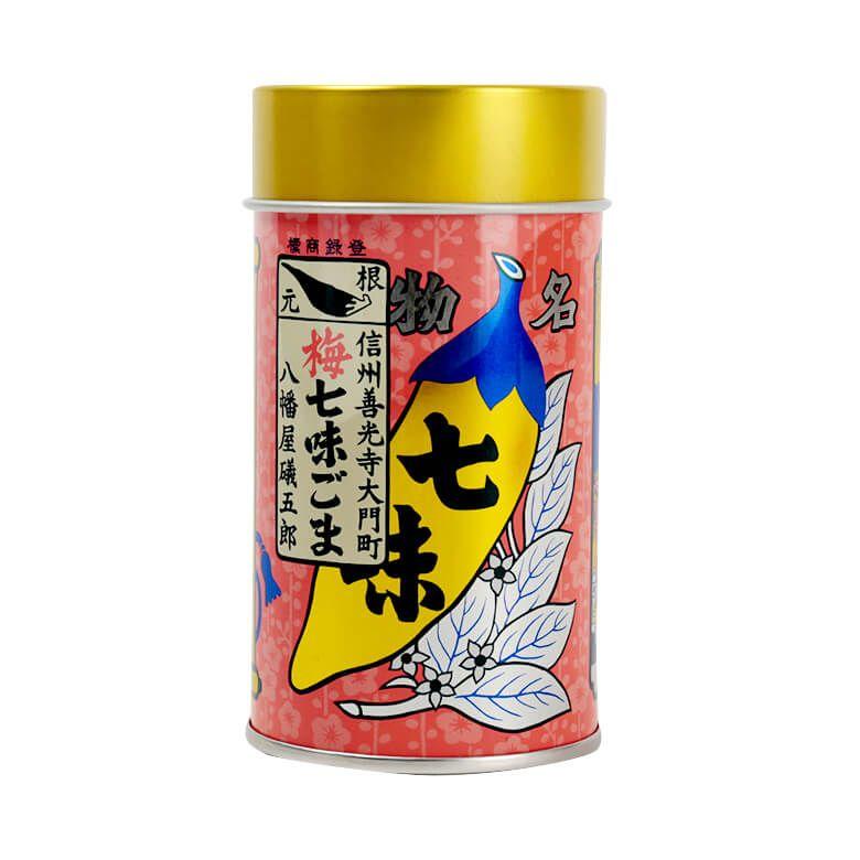 八幡屋礒五郎 梅七味胡麻缶