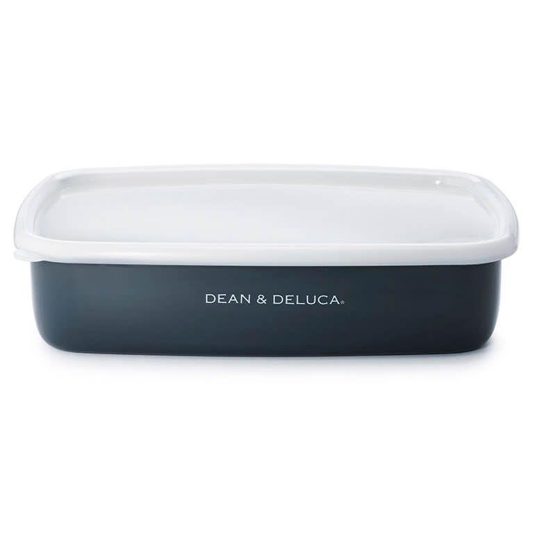 DEAN & DELUCA ホーローコンテナーL3個セット チャコールグレー