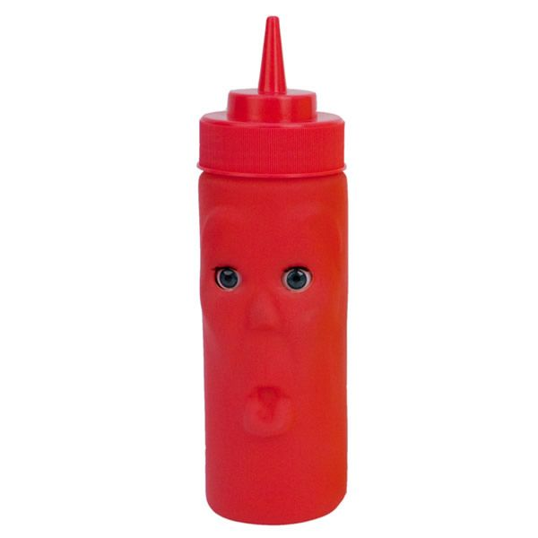 ケッチャップボトルの名前はモーリスです。