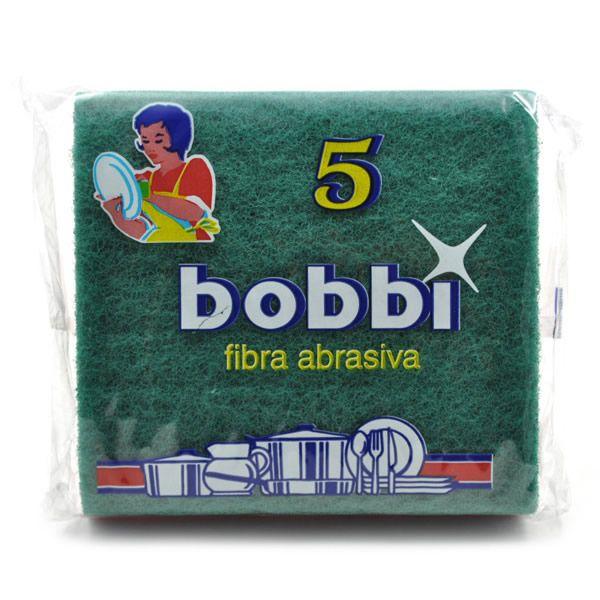 BOBBY Scouring padsは、鍋・フライパン洗いのしつこい汚れもしっかりと落とすことができる不織研磨シートです。