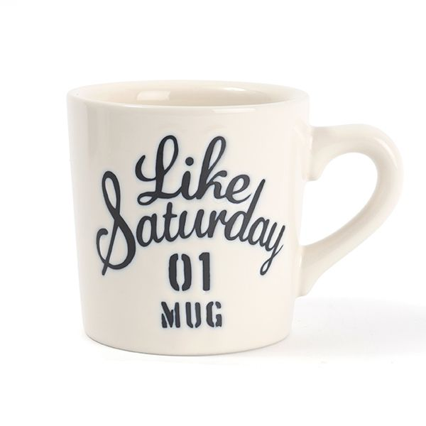 Like Saturday マグ アイボリー