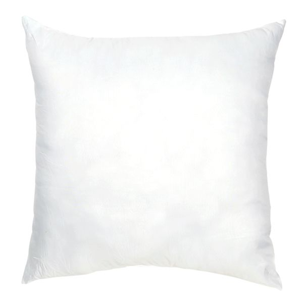 ふわふわでやわらかいポリエステル製の中綿クッションです