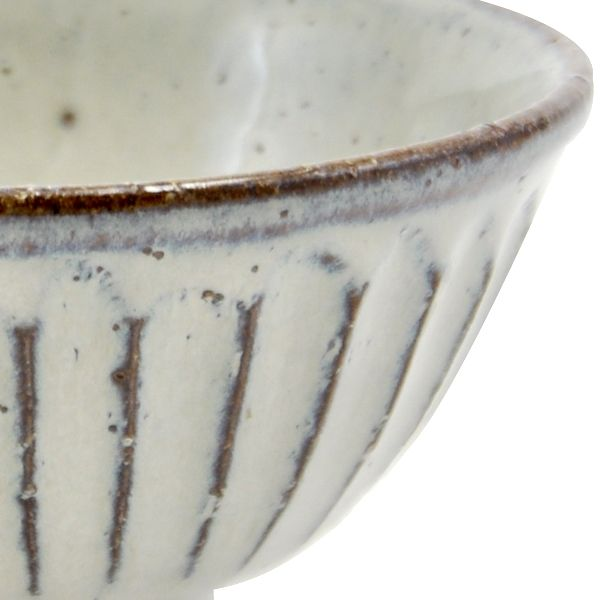 立彫り 飯碗 小