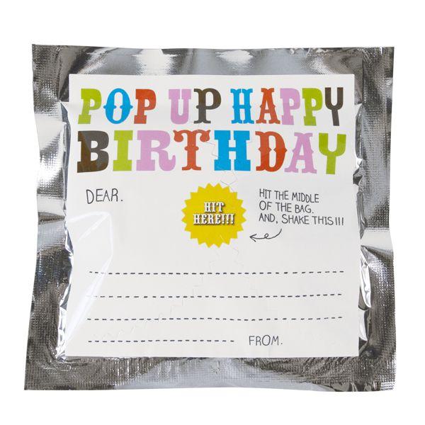 Pop Up Happy Bithday