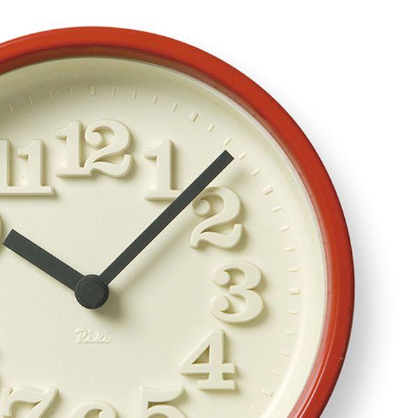 小さな時計 レッド