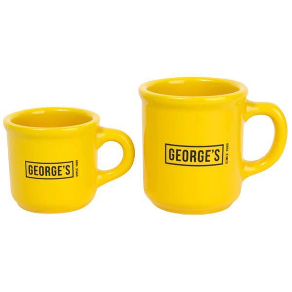 GEORGE'S マグカップ S イエロー