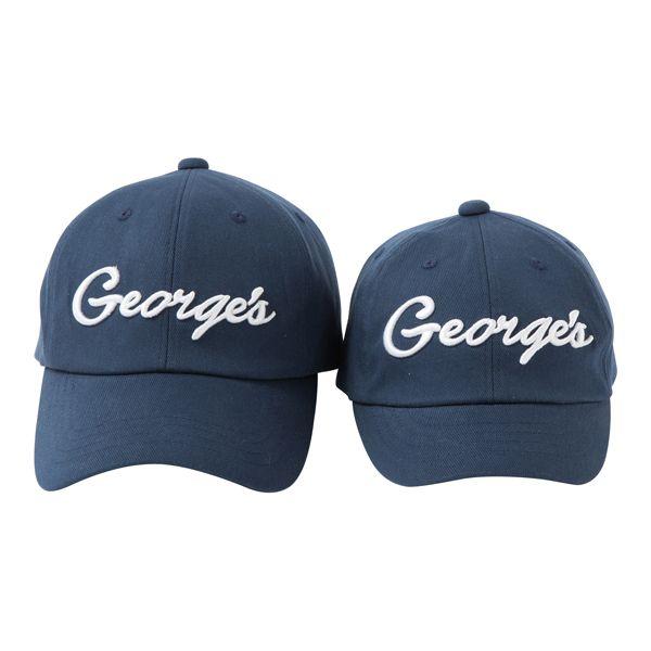 GEORGE'S ツイルキャップ ネイビー 子ども