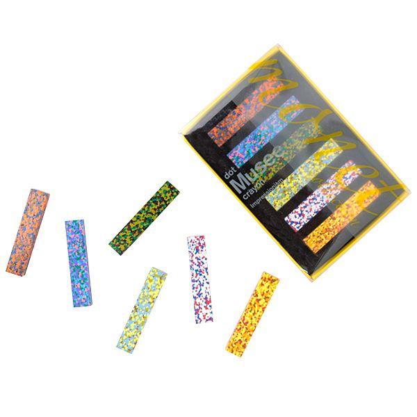 ドット ミュゼ クレヨン / Dot Musee Crayon 6色入