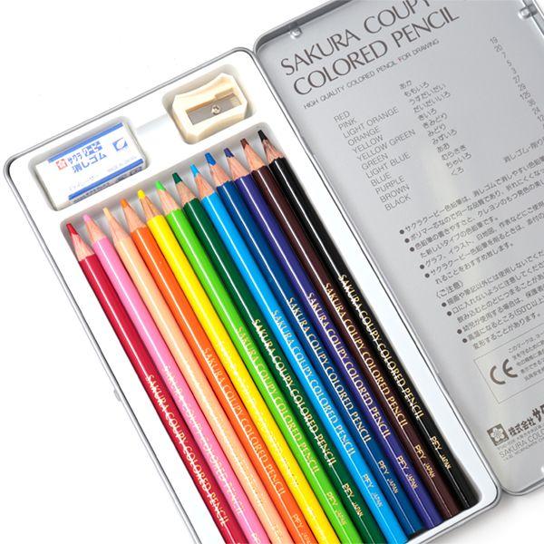 サクラ クーピー色鉛筆