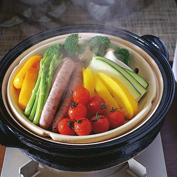 長谷園 ヘルシー蒸し鍋