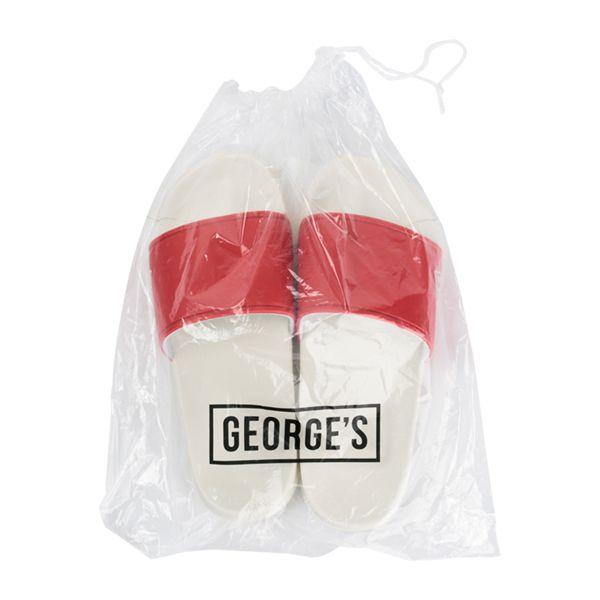 GEORGE'S シャワーサンダル グレー×グレー #38