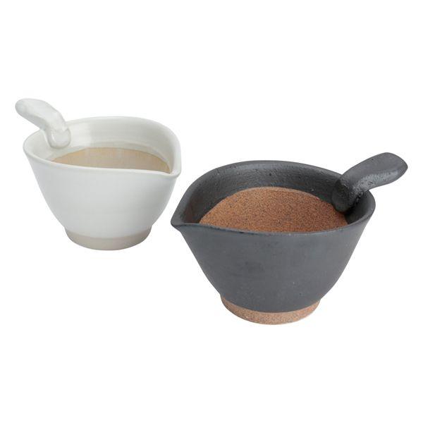 美濃焼きの納豆鉢 ホワイト