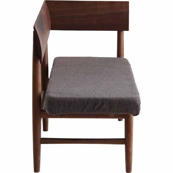 ベンチ:ブラウン、座面:ベージュ