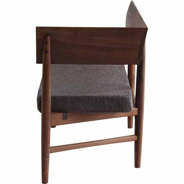 ベンチ:ブラウン、座面:ブラウン