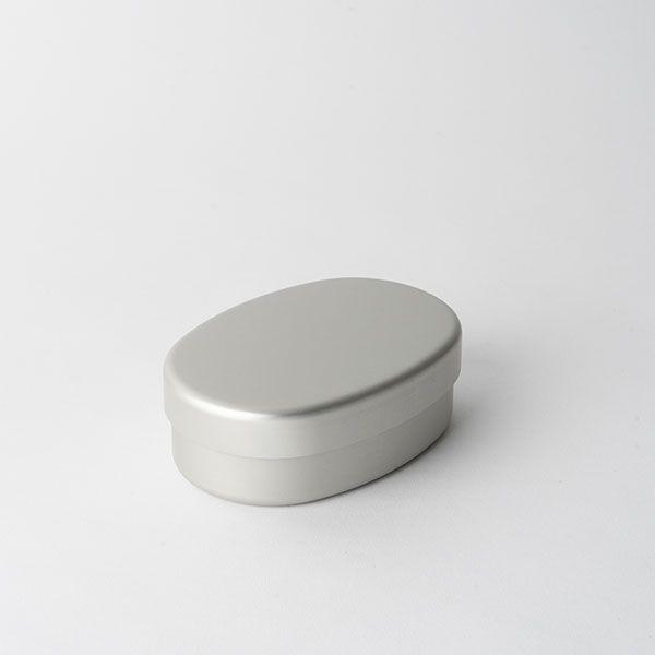 アルミ弁当箱 小判型 S