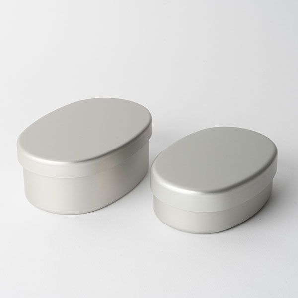 アルミ弁当箱 小判型 L