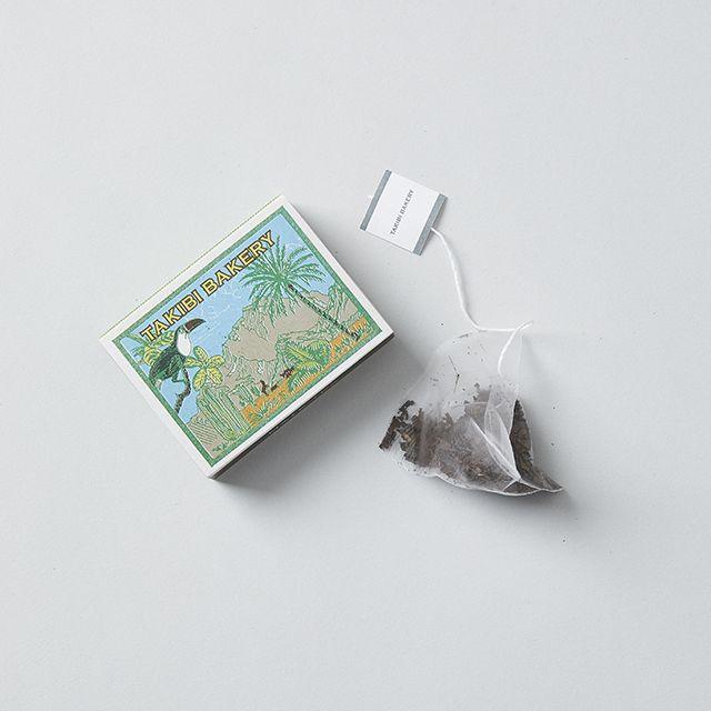 TAKIBI BAKERY/タキビベーカリー 旅する紅茶「マテ茶」