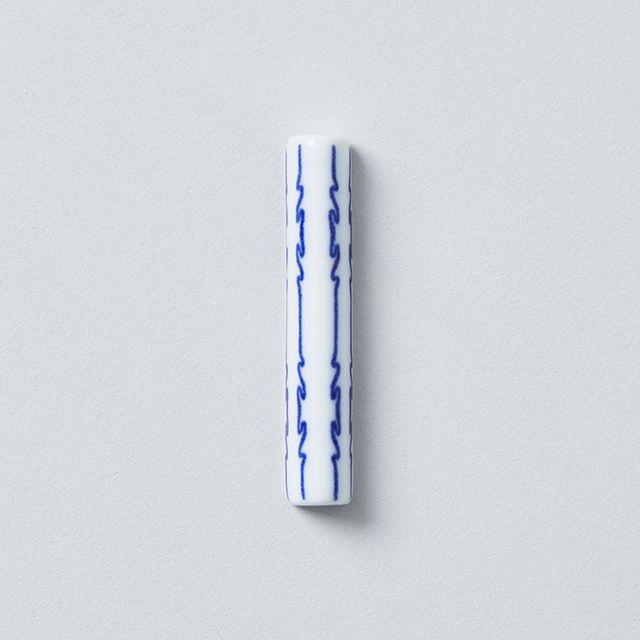 印判箸置 茎形