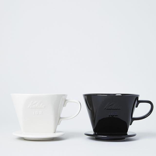 Kalita/カリタ 陶器製コーヒードリッパー ホワイト