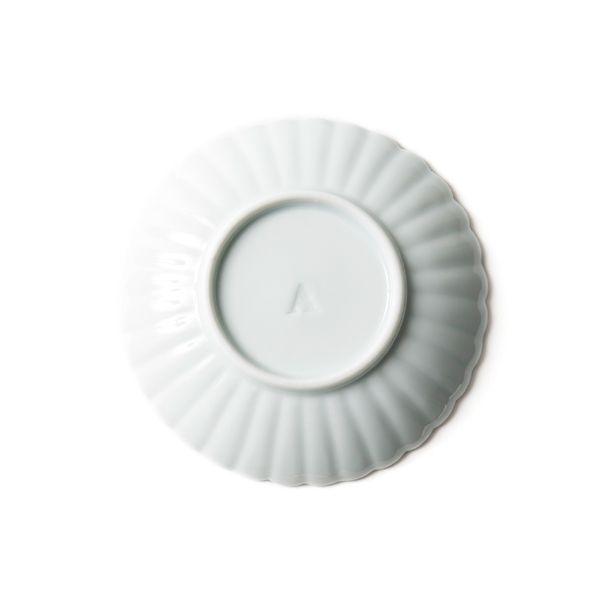 アマブロ 椿紋輪花 豆皿