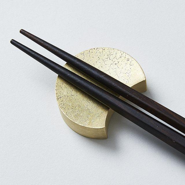 FUTAGAMI/二上 箸置き 三ツ月(フタガミ 大治将典 真鍮 )