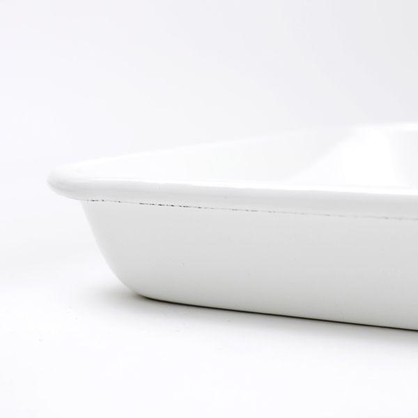 野田琺瑯ホワイトシリーズ バット 15取