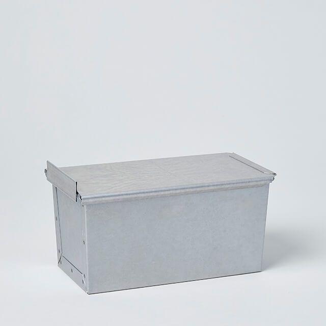 新考社 食パン焼型フタ付 1.5斤